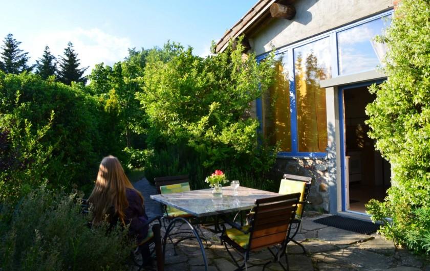 """Location de vacances - Appartement à Castel Rigone - Terasse appt. """"La Grapo"""" La Rogaia"""