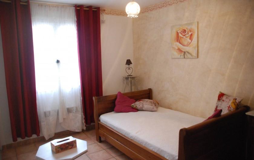 Location de vacances - Villa à Le Puy-Sainte-Réparade - chambre2