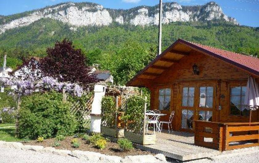 Location de vacances - Chalet à Saint-Laurent-du-Pont