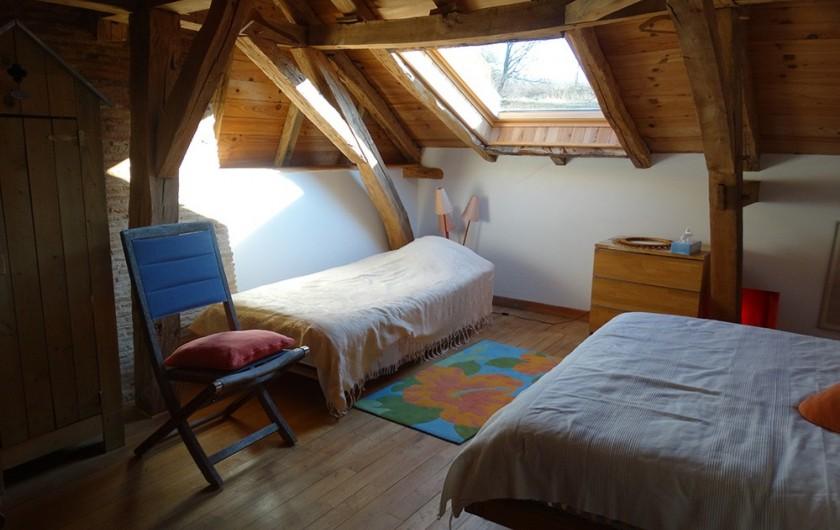Location de vacances - Gîte à Bourrou - chambre alep