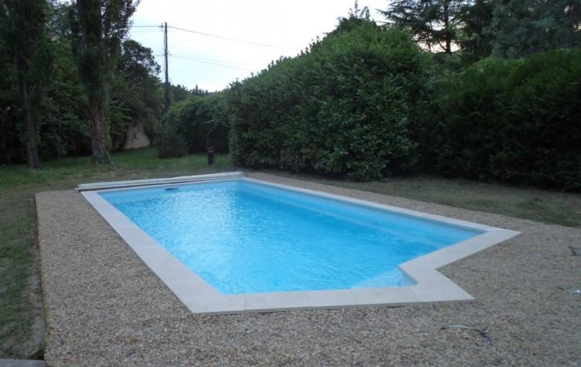 Location de vacances - Appartement à Saint-Ambroix - piscine