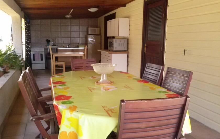 Location de vacances - Gîte à Saint-Paul - Terrasse Maison T4
