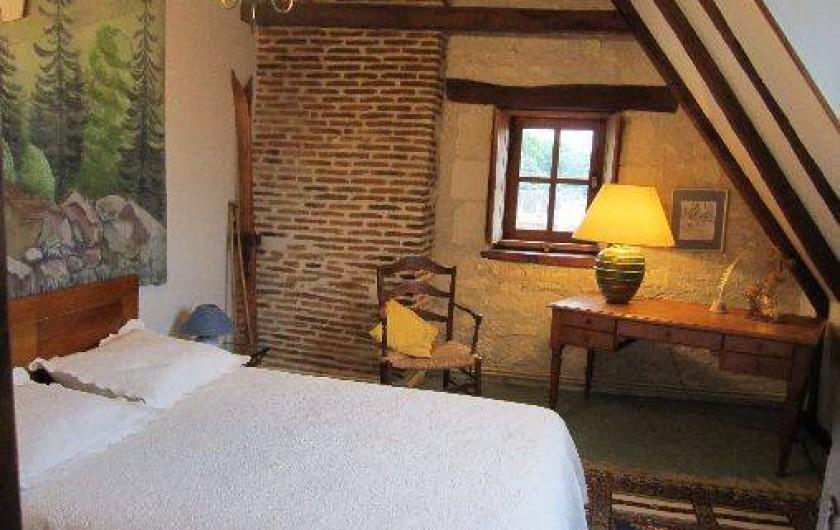 Location de vacances - Gîte à Montrichard - Chambre parentale , Lit de 140