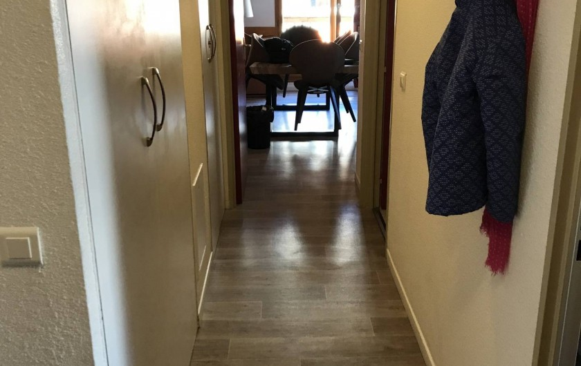 Location de vacances - Appartement à Saint-Sorlin-d'Arves - Couloir