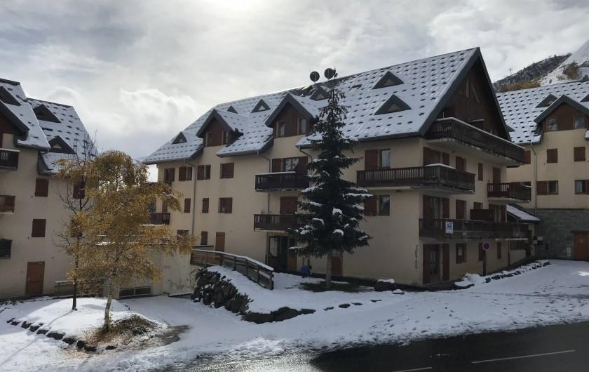 Location de vacances - Appartement à Saint-Sorlin-d'Arves - Résidence