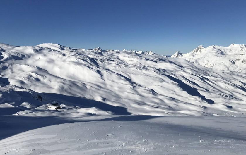 Location de vacances - Appartement à Saint-Sorlin-d'Arves - Domaine skiable les sybelles