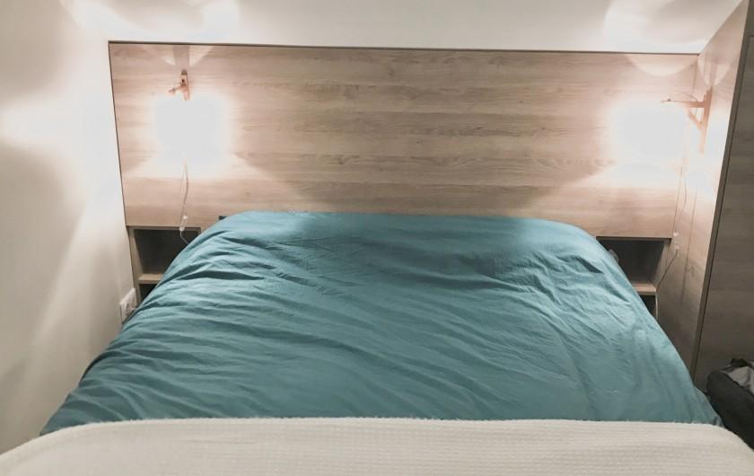 Location de vacances - Appartement à Saint-Sorlin-d'Arves - Lit 160 x 200 suite parentale