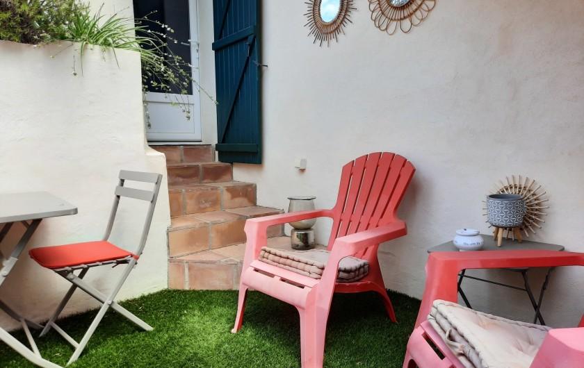 Location de vacances - Appartement à Montagnac - petite terrasse
