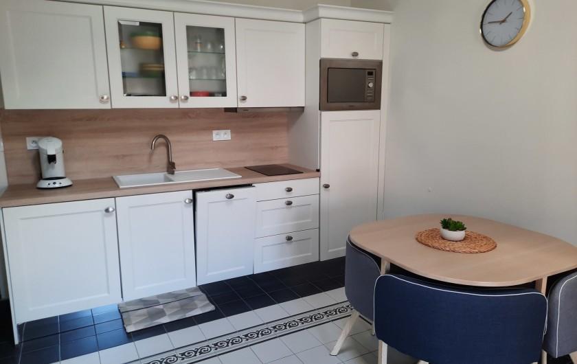 Location de vacances - Appartement à Montagnac - coin repas
