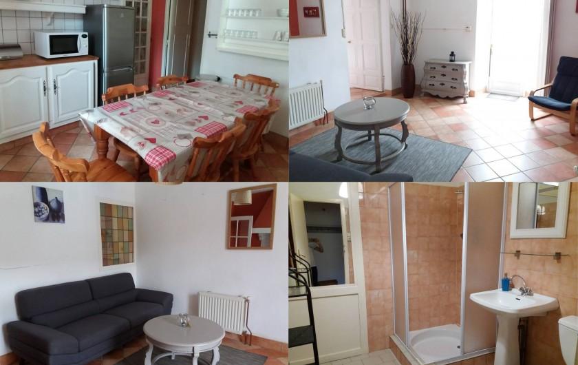 Location de vacances - Gîte à Valgorge - Gîte La Chataîgneraie  (6 pers), 3 chambres.
