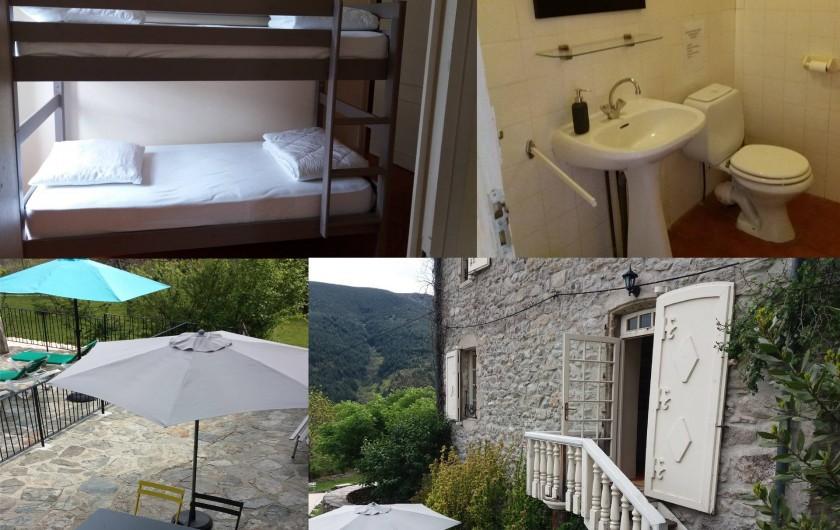 Location de vacances - Gîte à Valgorge - La Rûche (2 chambres et sa terrasse)