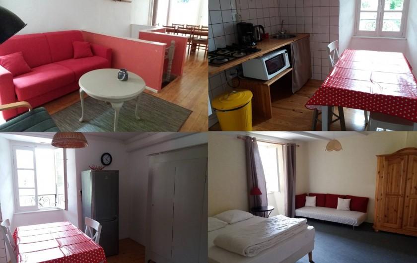 Location de vacances - Gîte à Valgorge - Gîte Le Potager (6/8 pers) 3 chambres+canapé convertible.
