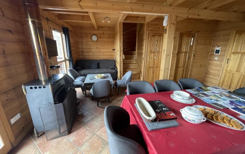 Location de vacances - Chalet à La Joue du Loup - Chalet Céline - Coin salon