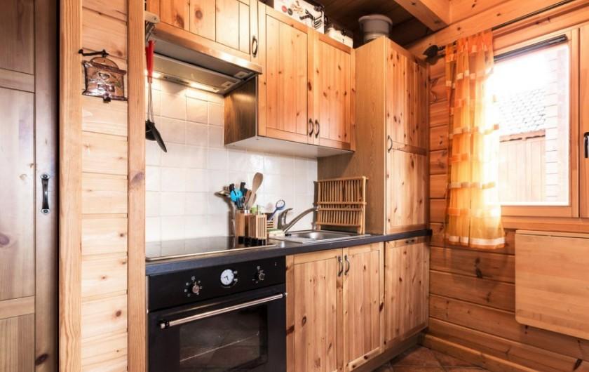 Location de vacances - Chalet à La Joue du Loup - Chalet Virginie - Coin cuisine