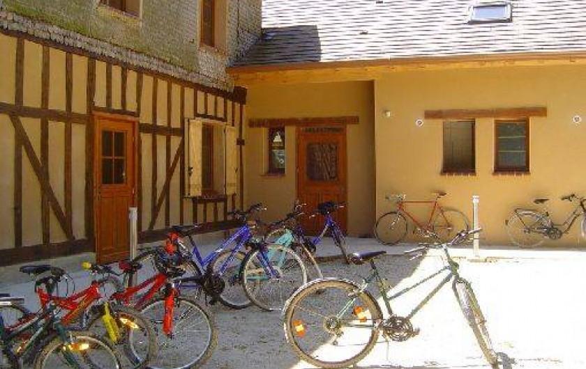 Location de vacances - Gîte à Outines - Gite labellisé Accueil Vélo