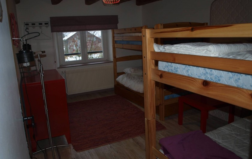 Location de vacances - Gîte à Corcieux - La chambre des lutins
