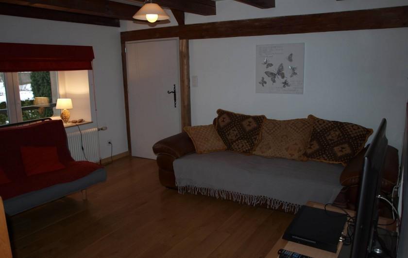 Location de vacances - Gîte à Corcieux - Côté mezzanine