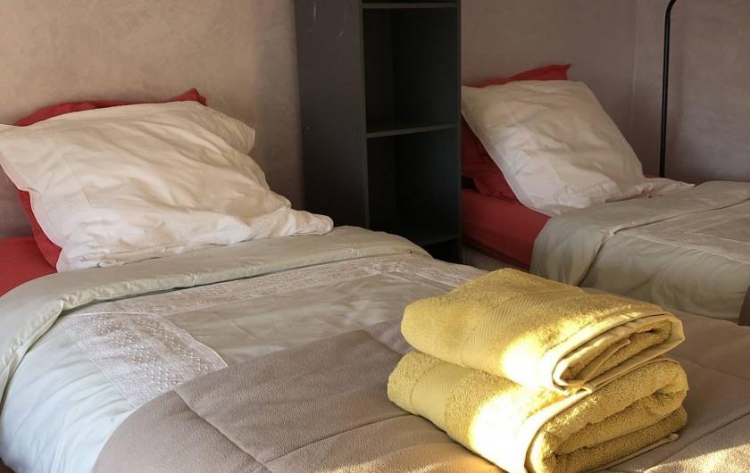 Location de vacances - Appartement à Monaco-Ville - la chambre du haut ds la grand appartement