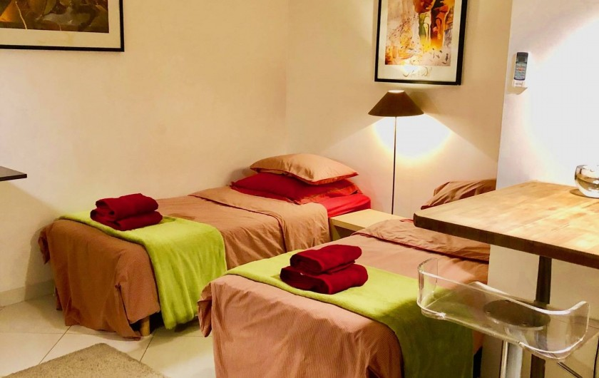 Location de vacances - Appartement à Monaco-Ville - Le STUDIO du Rez de chaussée 28 M2