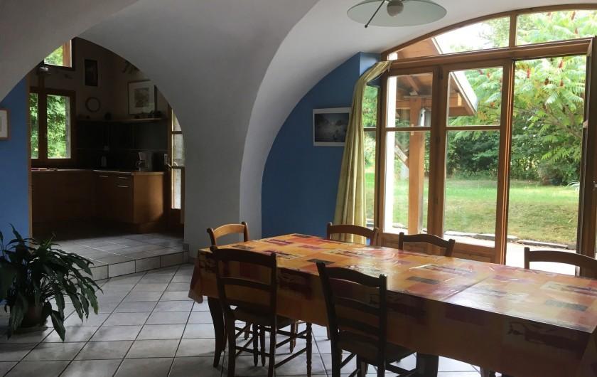 Location de vacances - Maison - Villa à Le Bourg-d'Oisans - Salle à manger