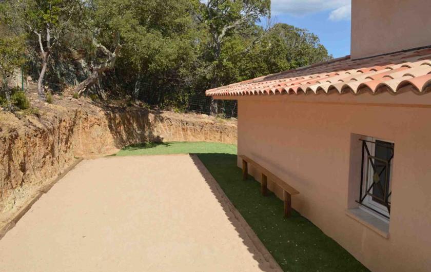 Location de vacances - Villa à Porto-Vecchio - Boulodrome