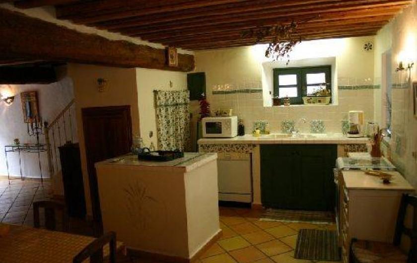 Location de vacances - Gîte à Carcassonne - coin cuisine