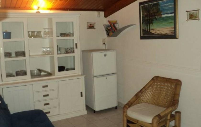 Location de vacances - Gîte à Bois De Nèfles - Salon