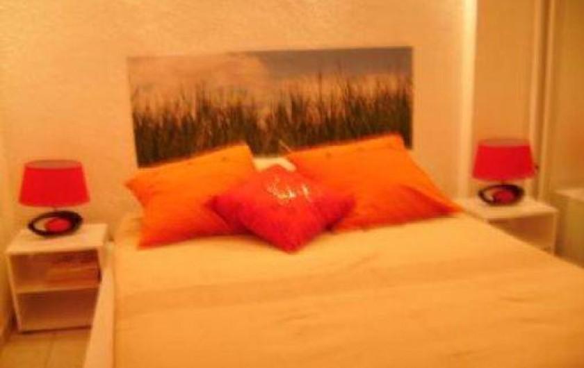 Location de vacances - Appartement à Toulon - CHAMBRE 1