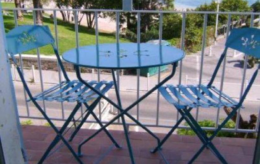 Location de vacances - Appartement à Toulon - BALCON