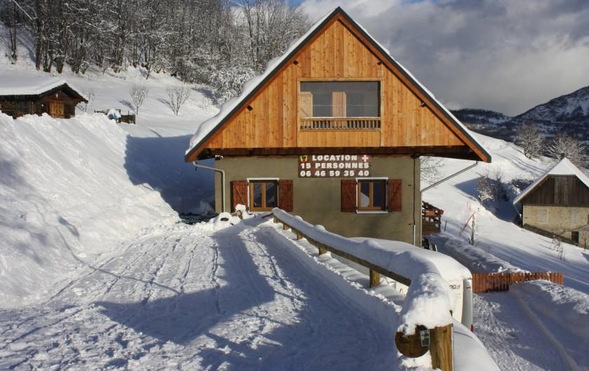 Location de vacances - Chalet à Fontcouverte-la-Toussuire - Ancienne ferme rénovée.