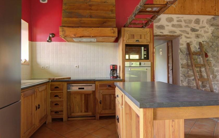 Location de vacances - Chalet à Fontcouverte-la-Toussuire - Cuisine