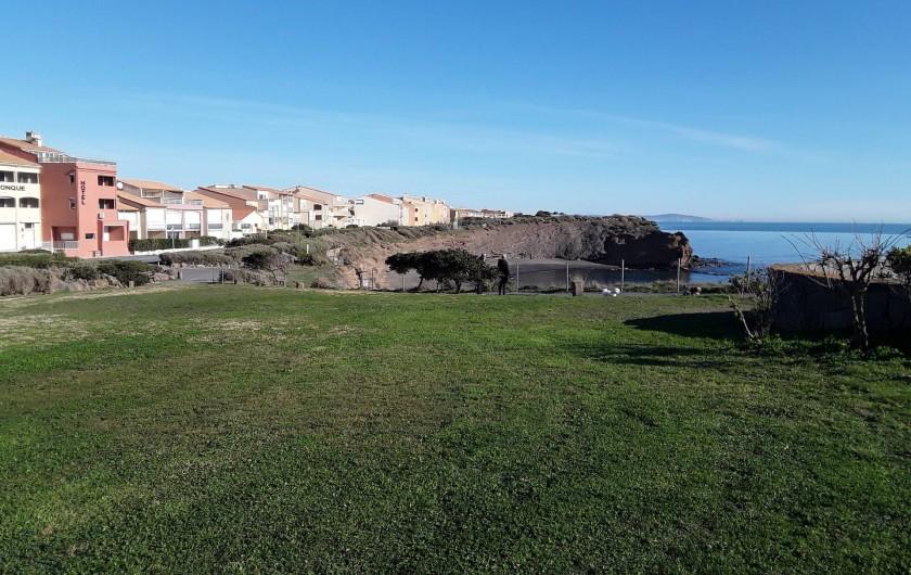 Location de vacances - Appartement à Agde - Quartier de la crique de la Grande  Conque