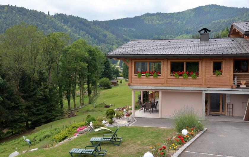 Location de vacances - Chalet à Fellering