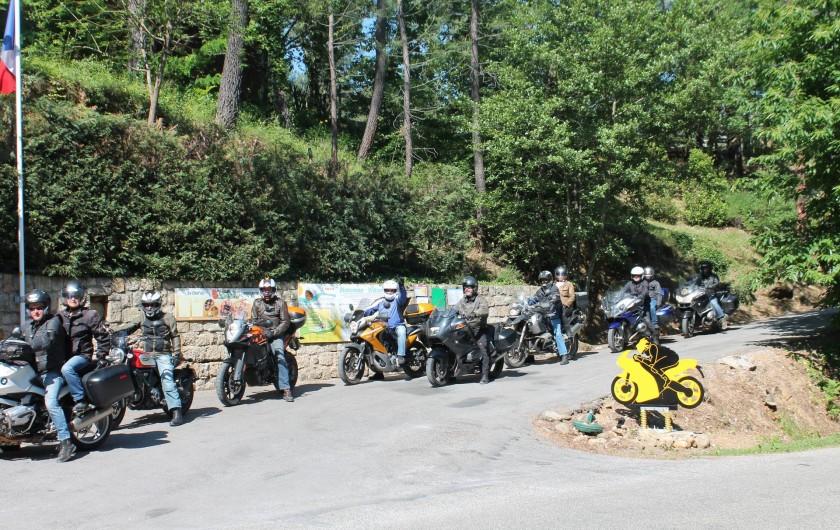 Location de vacances - Camping à Joyeuse - Bienvenue à nos amis motards