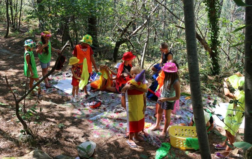 Location de vacances - Camping à Joyeuse - Club enfants