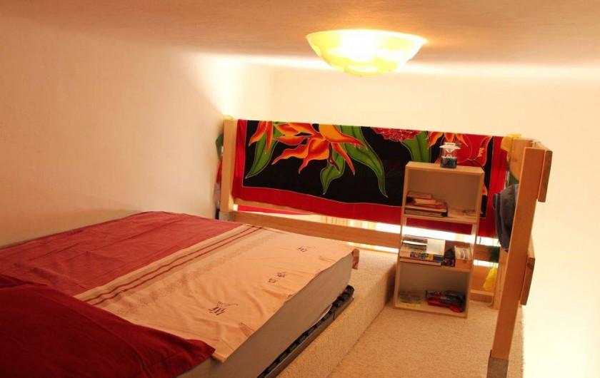 Location de vacances - Appartement à Hyères - Chambre Mezzanine avec lit en 120/200