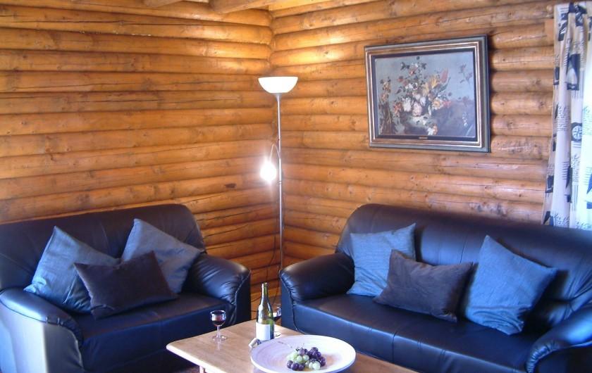 Location de vacances - Chalet à Gérardmer - Le coin salon