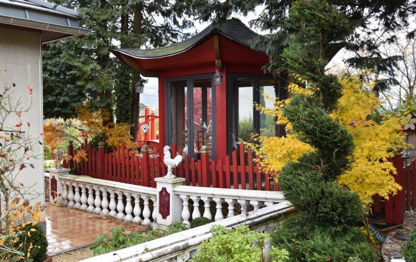 Location de vacances - Villa à Pierre-Châtel - Automne et maison de thé