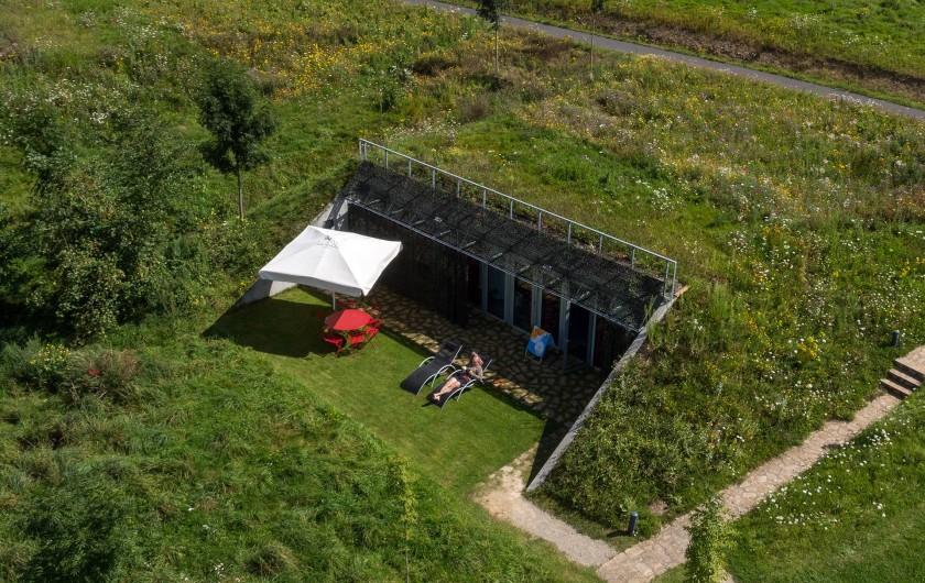 Location de vacances - Gîte à Sainte-Féréole - Vue sur le paysage