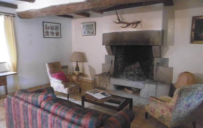 Location de vacances - Château - Manoir à Tréguier - salon de manercoz de Kerhir