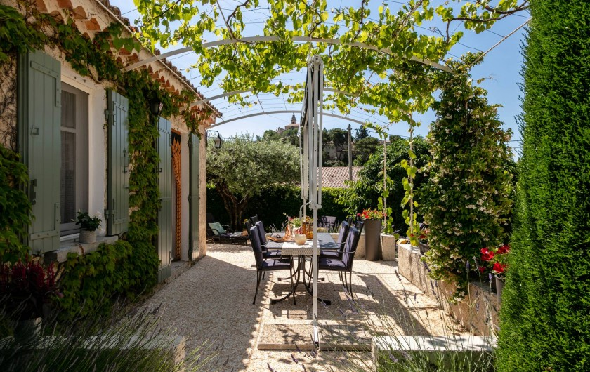 Location de vacances - Gîte à Crillon-le-Brave - Terrasse