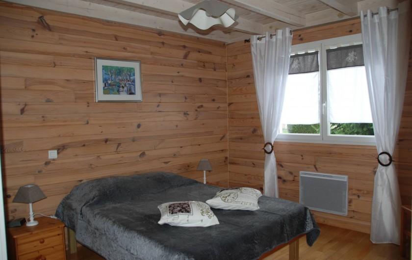 Location de vacances - Chalet à Saint-Léonard - Chambre parentale