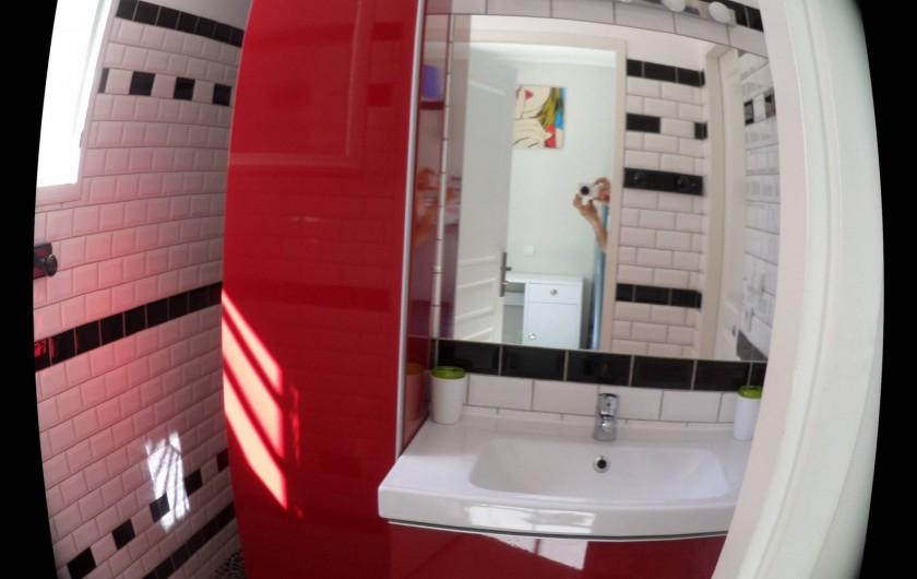 Location de vacances - Villa à Saint-Dézéry - salle d eau