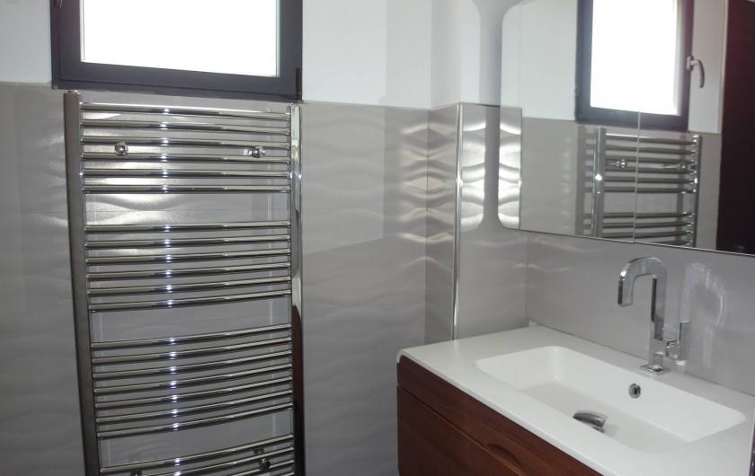 Location de vacances - Villa à Le Cap d'Agde - vasque salle d'eau du bas