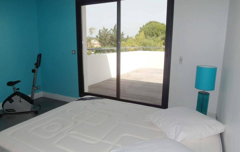 Location de vacances - Villa à Le Cap d'Agde - chambre 2 à l'étage