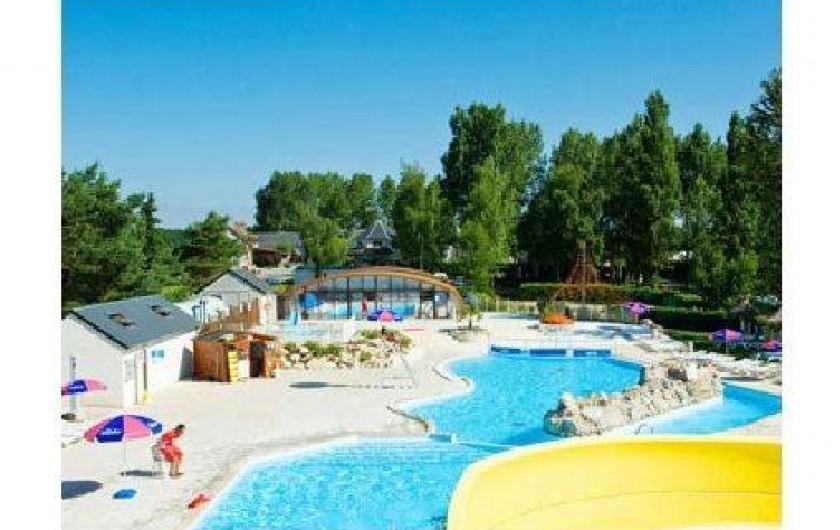 Location mobil homes courtin onzain loir et cher dans for Camping loir et cher avec piscine