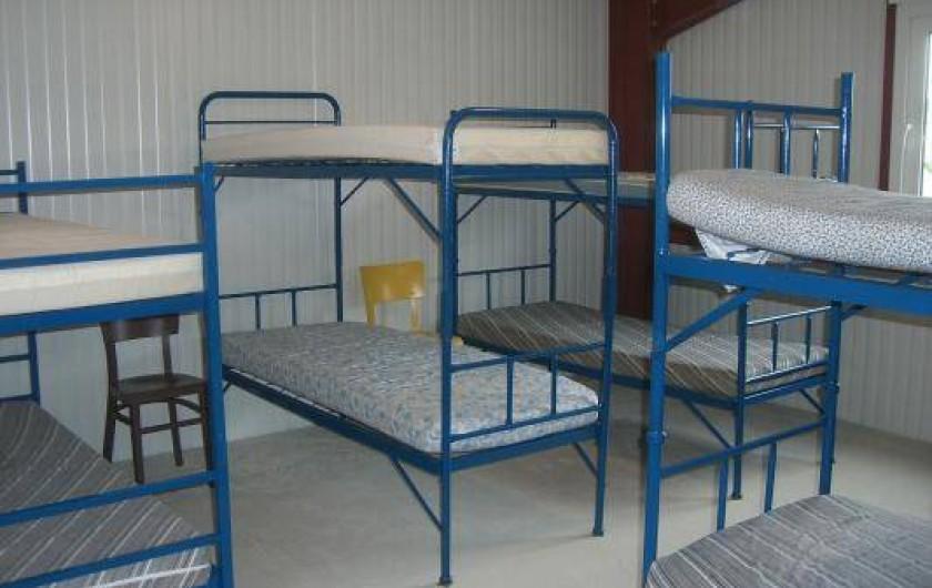 Location de vacances - Gîte à Cormoyeux - 2 chambrées de 8 couchages et 1 chambrée de 6 couchages
