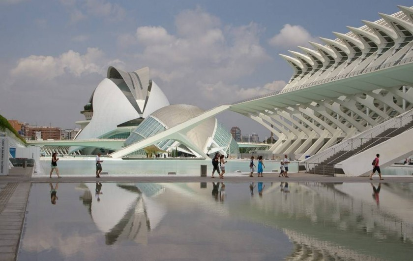 Location de vacances - Appartement à Valence - cité des sciences et des arts de Valencia