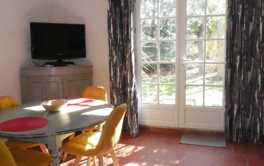 Location de vacances - Mas à Narbonne - Intérieur Séjour