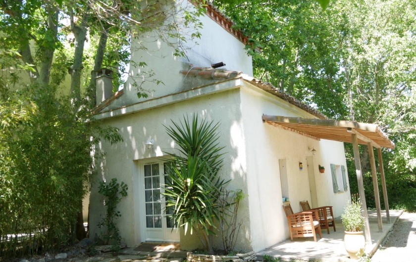 Location de vacances - Mas à Narbonne - Extérieur maison